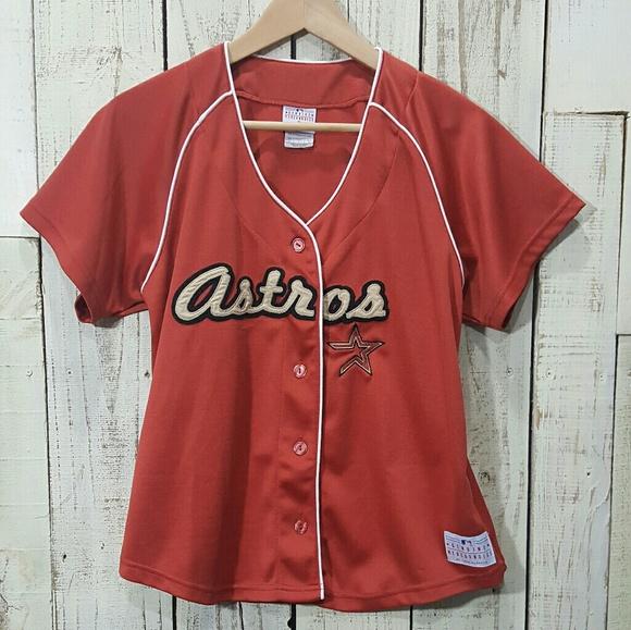 sports shoes 73958 90d48 Women's Houston Astros Vintage Jersey